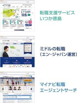 地域特化サイト・全国版サイト 3媒体からのアプローチ!